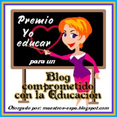"""PREMIO """"YO AMO EDUCAR"""""""