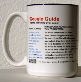 Google Guide coffee mug image