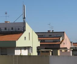 Antena instalada na Av. Brasília nº20
