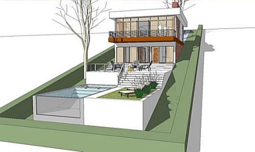 Sloped Lot House Plans with Walkout Basements at Dream Home Source