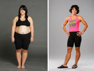 Biggest Loser Winner Ali Vincent at 122 lbs. How tall is she?