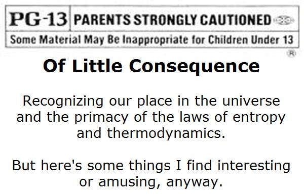Of Little Consequence