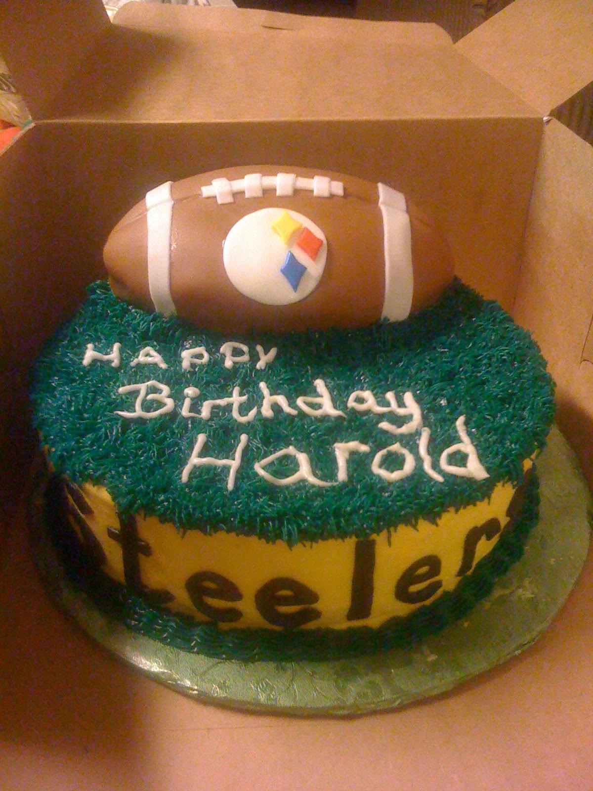 how to make a steelers cake