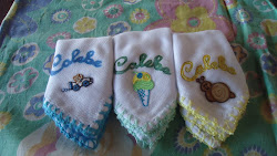 Fraldas personalizadas pintura, bordado e crochê