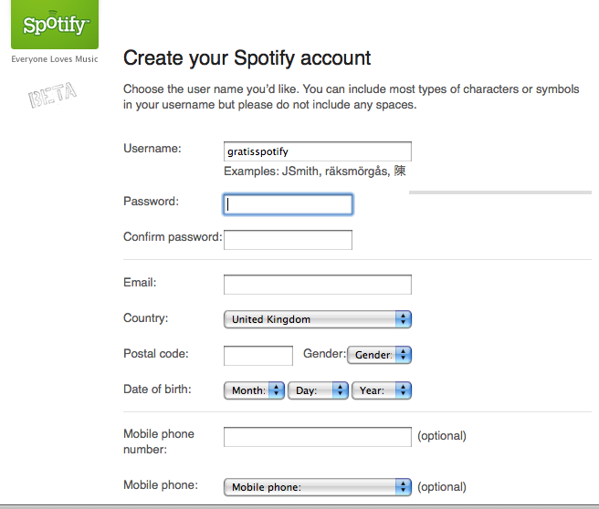 Skapa en Spotify Invite: Step by Step guide for creating a ...