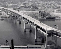 The Marquam Bridge (circa 1966) was built with the Mt. Hood Freeway as the next logical step