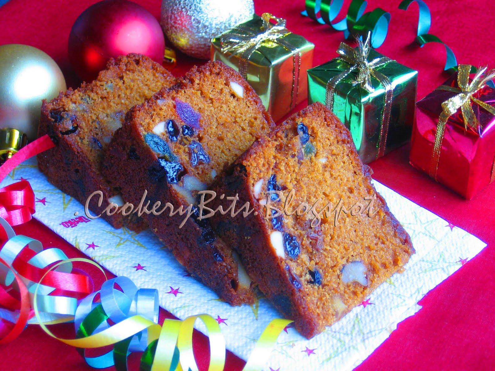 Cookery Bits: Christmas fruit cake/ plum cake (Kerala speciality)