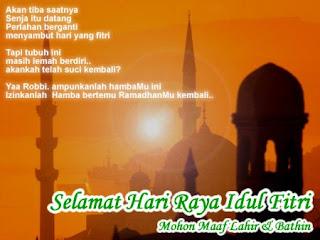 Selamat Hari Raya Idul Fitri 1429 H