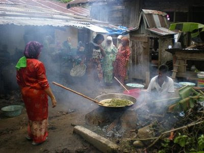 Pengantin Laki ke rumah perempuan Adat Budaya Kampar