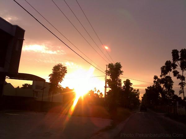 Pekanbaru Sunset