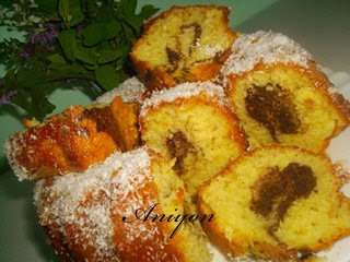 recipes - cake with lemon peels