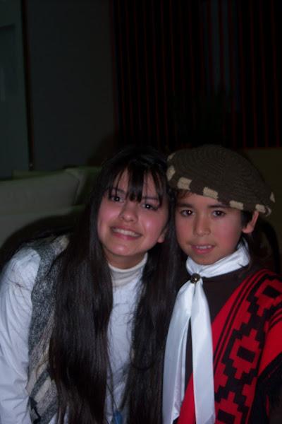 """Antonella y """"El Chinito"""""""