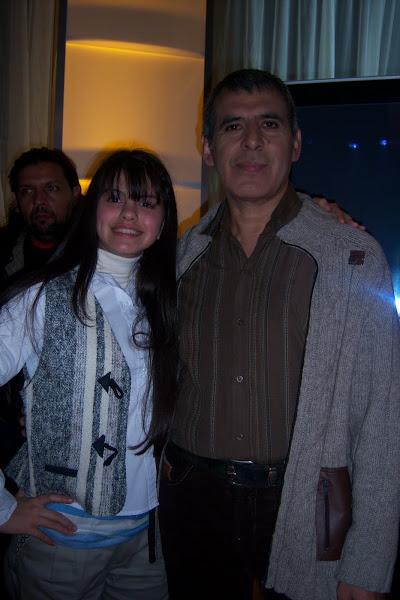 Antonella y Peteco Carabajal
