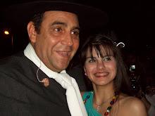 Antonella y El Chaqueño - Cantaron juntos en Malvinas Argentinas
