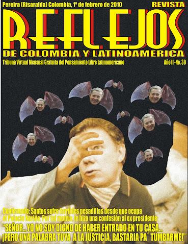 """SALIO Revista """"REFLEJOS DE COLOMBIA Y LATINOAMERICA"""" N° 30"""