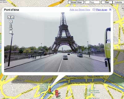 Paris-Google Maps Street View