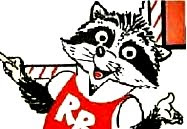 Roger Robbie, the Hip Hop Raccoon (character by Herb Rogers, Jr. and Van Stone)