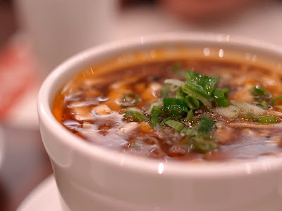 鼎泰豐 酸辣湯 冬天禦寒飲食