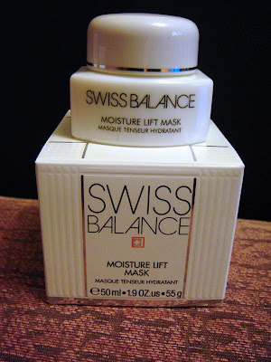 swiss balance moisture lift mask