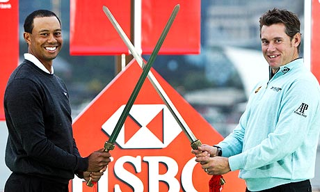 HSBC Golf Champions 2010 lee westwood rory mcilroy tiger woods