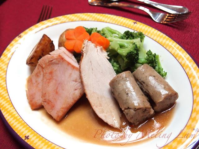 disney christmas buffet 迪士尼雪亮聖誕 皇室宴會廳 聖誕自助餐