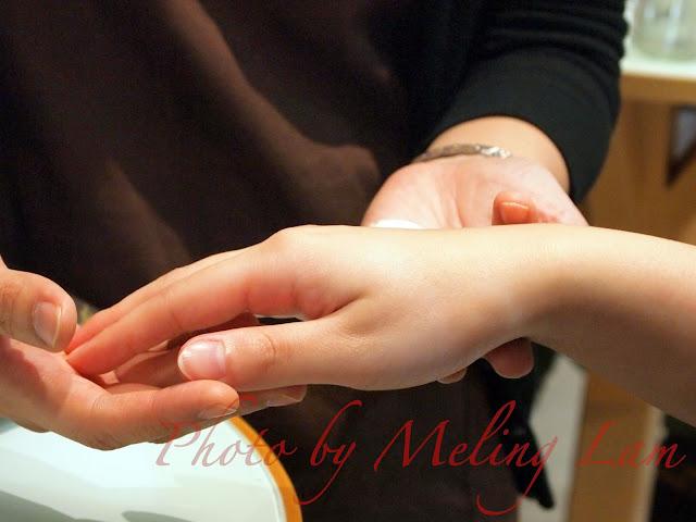 beyond organic hand massage 有機手部按摩