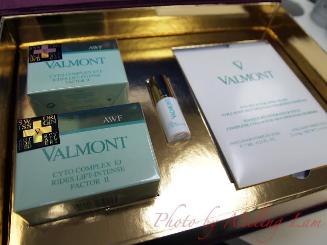 valmont skincare christmas set