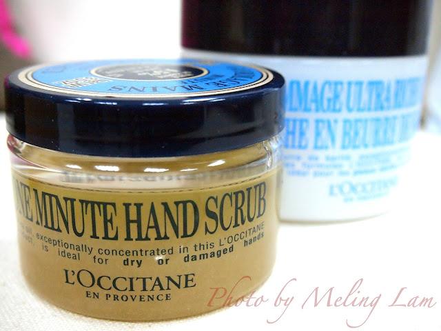winter rescue loccitane paris body scrub hand scrub