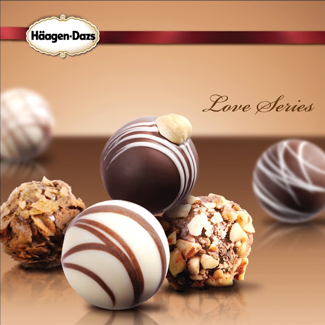 haagen dazs Häagen-Dazs love me valentine's day ice cream chocolate truffles j'aime gift box 情人節 手造雪糕朱古力禮盒