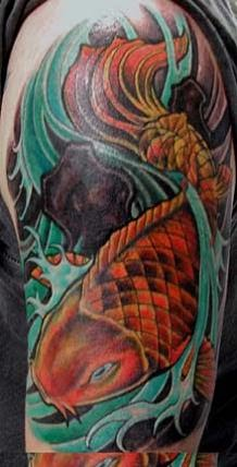 Japanese Tattoo Designs Especially Japanese Sleeve Koi Fish Tattoos Picture 7
