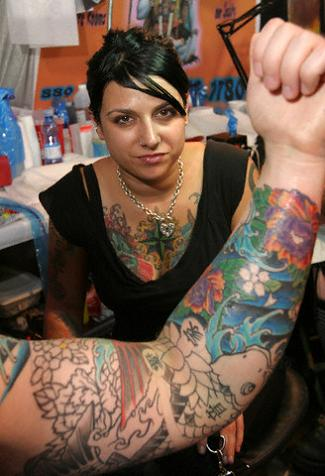 The most common designs for Japanese sleeve tattoo are those that are part