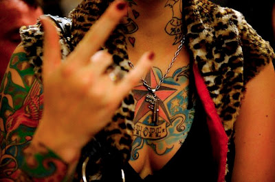 Nautical Star Tattoo Shoulder