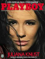 Playboy: Juliana Knurst - Dezembro 2007 - Edição de Colecionador