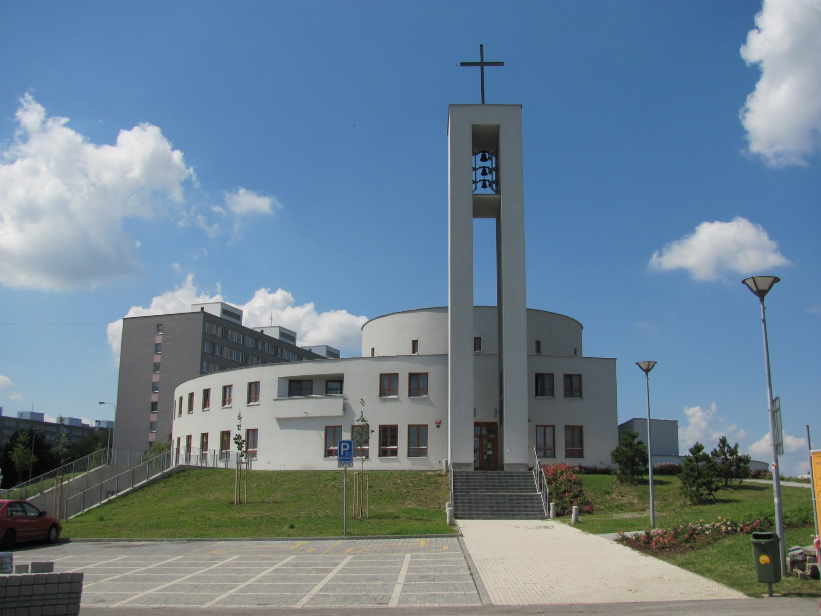 Abroad In The Czech Republic Modern Church