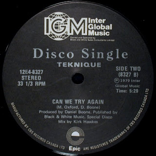 """Teknique - Looking For Someone To Love/Can We Try Again (1979) 12"""" Single @320"""