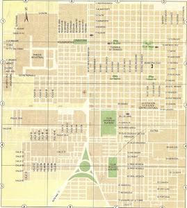 Mapa de la Cuidad