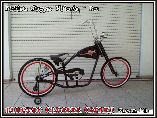Bicicleta Chopper para niños/as - rodado 20
