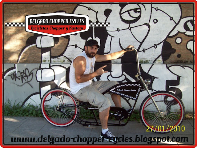 Bicicleta Chopper Hot Rod 2010 - DCC