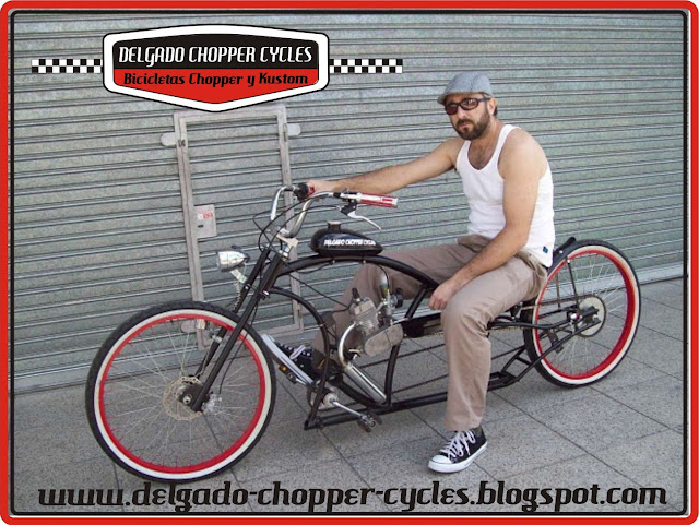 Bicicleta Kustom Kruiser II con motor - DCC