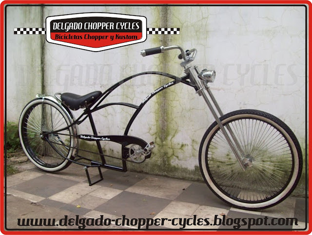 Bicicleta Chopper Big Bastard - DCC