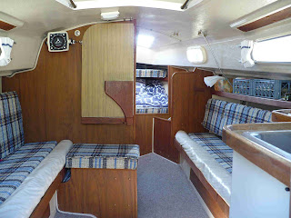 Bobbing And Sailing For Sale 1978 Neptune 24 Sailboat By