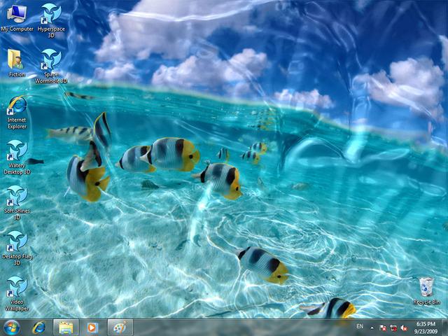 Free Moving Desktop Themes