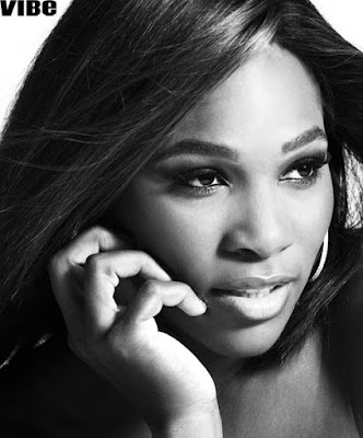 Black Tennis Pro's Serena Williams Vibe Magazine Superwoman Photo Shoot
