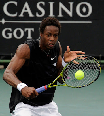 Black Tennis Pro's Gael Monfils vs. Feliciano Lopez South African Open Semifinal