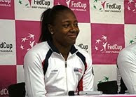 Black Tennis Pro's Shenay Perry US Fed Cup Team Blogs From France
