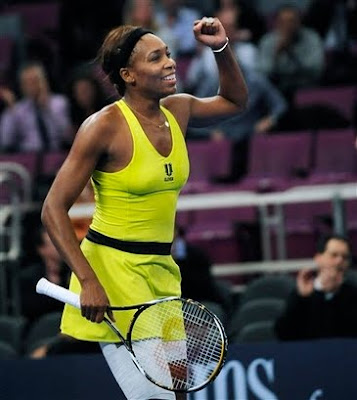 Black Tennis Pro's Venus Williams Wins 2010 Billie Jean King Cup