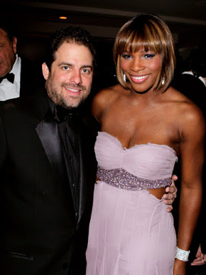Black Tennis Pro's Serena Williams at 2010 Oscars with Brett Ratner