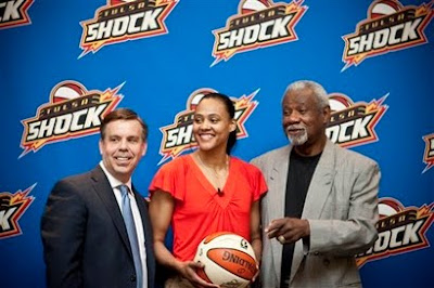 Black Tennis Pro's Marion Jones signs with Tulsa Shock