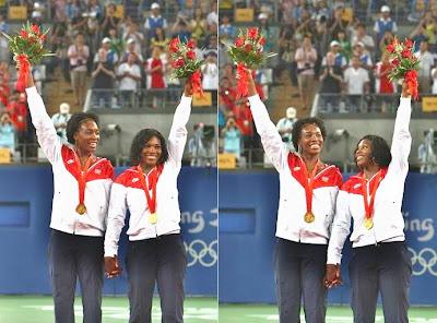 Black Tennis Pro's Beijing Olympics