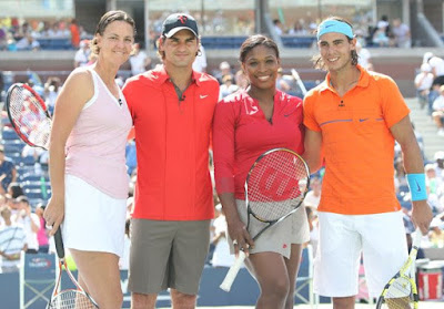 Black Tennis Pro's Arthur Ashe Kids Day